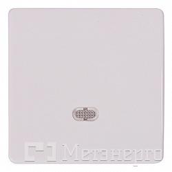 Кнопка e.lux.11651L.pn.l.white.shrink одинарна біла з підсвіткою ... 2fead8be1afef