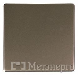 Клавіша e.lux.11011L.pn.nickel.shrink одинарна